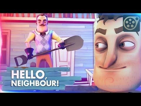 [SFM] Hello Neighbor Song (DAGames) (видео)