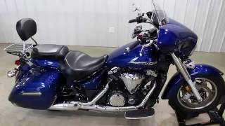 4. 2014 Yamaha V star 1300 Deluxe walk around