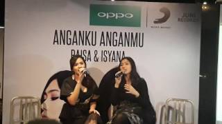 "download lagu download musik download mp3 Raisa dan Isyana Duet Singel Terbaru ""Anganku Anganmu"""