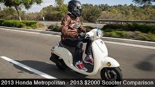 3. 2013 Honda Metropolitan - $2000 Scooter Comparison - MotoUSA