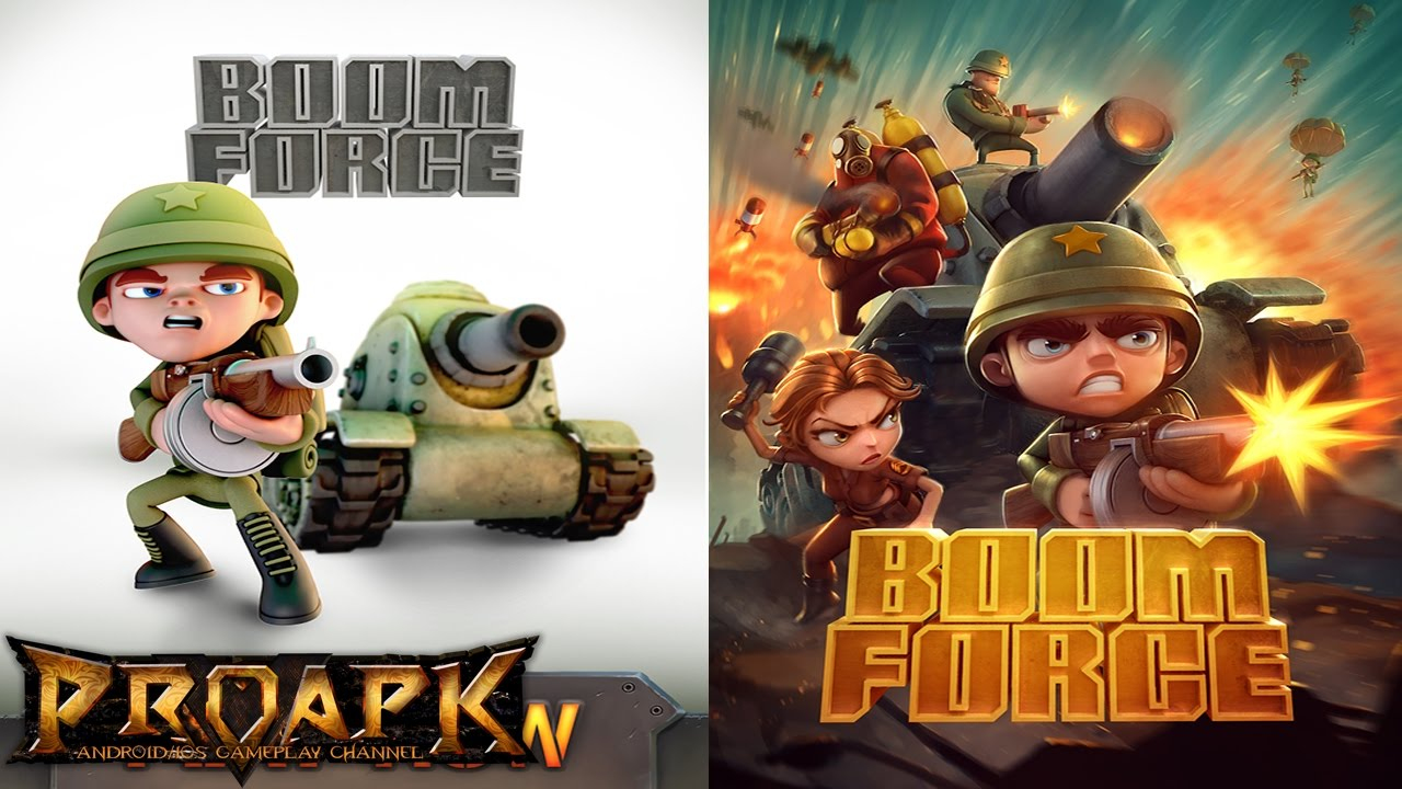 Boom Force: Multiplayer Battle War Game