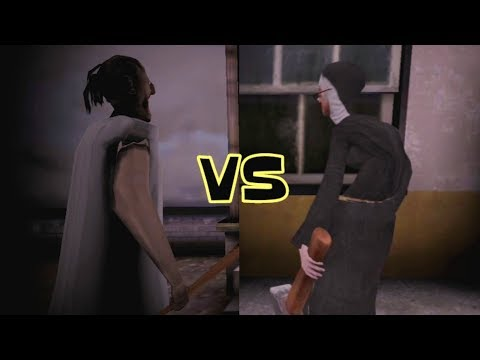 Granny Practice Mode vs Evil Nun Ghost Mode