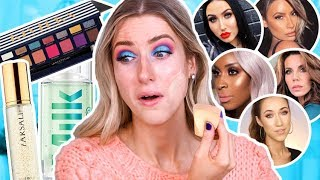 TESTING MAKEUP BEAUTY GURUS MADE ME BUY... Full Day Wear Test by Rachhloves