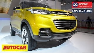 Chevrolet Adra Compact SUV Concept | First Look | Kotak Mahindra Prime Presents Expo Buzz 201 948572