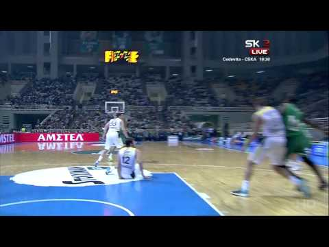 monster - James Gist Monster Dunk PAO Fenerbahce Euroleague.