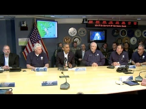 President Obama Speaks on Hurricane Sandy
