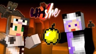 STAYING GOLDEN w/ Stacyplays - Minecraft BooHShe Ep2 by iHasCupquake
