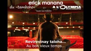 Ancien CFPM - Erick Manana en tête d'affiche à l'Olympia