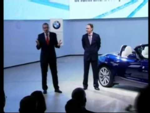 Detroit 2009: BMW Z4 Unveiling   Video