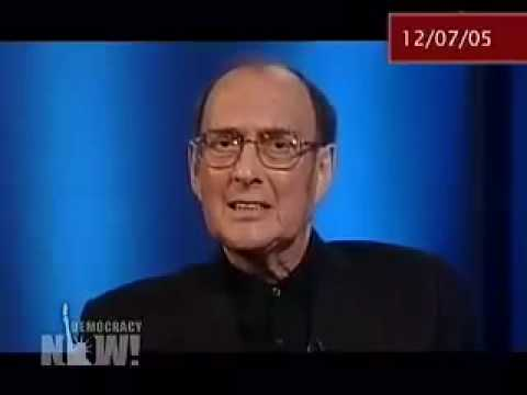 harold - Nobel Prize acceptance speech given by Harold Pinter. Shown on Democracy Now, which can be seen daily here: http://www.democracynow.org.