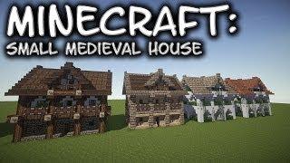Minecraft: Small Medieval House Tutorial 1