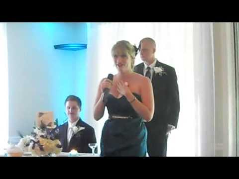 Best Maid of Honor Speech/Song!