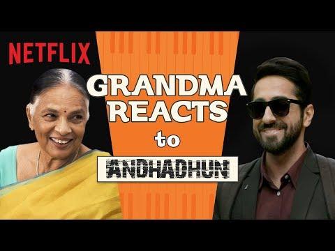 Indian Grandma Reacts to Andhadhun | Netflix