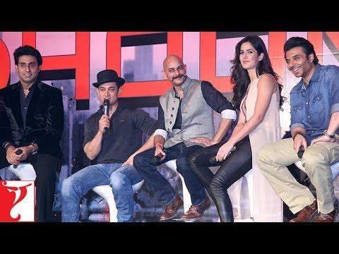 The Team Of DHOOM:3 | Part 2 | Aamir Khan | Abhishek Bachchan | Katrina Kaif | Uday Chopra