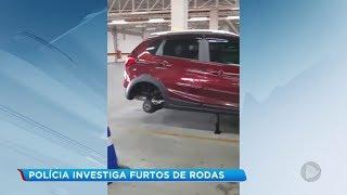Polícia investiga furto de rodas de carros em Bauru