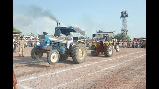 Ford 7000 vs Hindustan tractor tochan mukabla