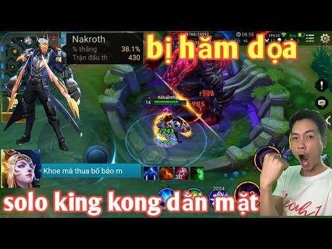 Bị Hăm Dọa Khi Khoe Tỉ Lệ Thắng Nakroth | Anh Hảo Solo Luôn King Kong Để Dằn Mặt - Thời lượng: 14:20.
