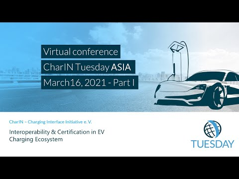"""CharIN Tuesday ASIA: """"Interoperability & Certification in EV Charging Ecosystem"""""""