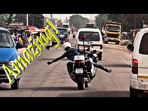 Amazing Police Escorts in West Africa