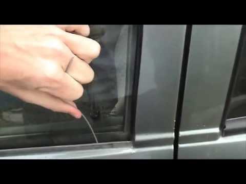 Как открыть ваз 2110 без ключа видео
