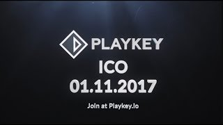 Playkey ICO - Decentralized Cloud Gaming Platform - Token sale: November 1st, .2017