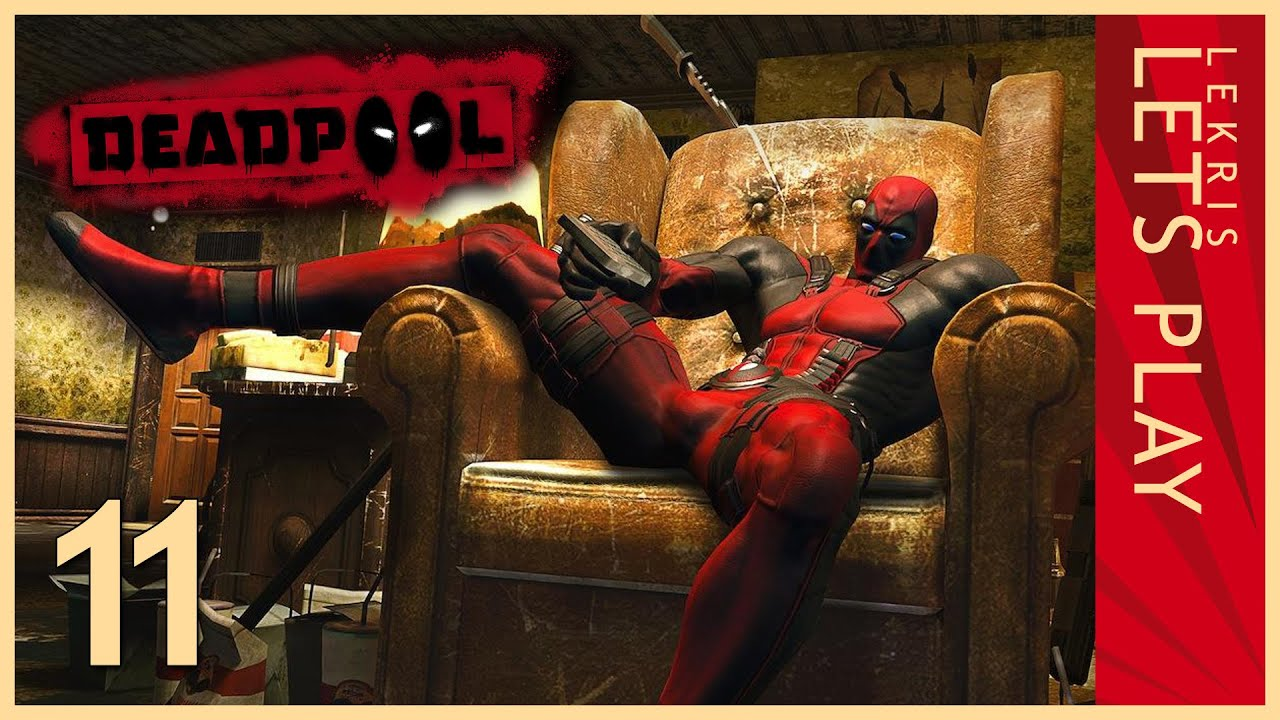 Deadpool #11 - Tongue Twister for Rogue  - Let's Play Deadpool | HD