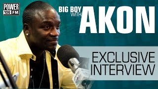 Does Akon Really Have His Own Gas Station At Home?   Big Boy's Neighborhood