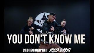 Download Lagu Jax Jones – You Don't Know Me | Dance Routine | choreographer: Kolya Barni Mp3