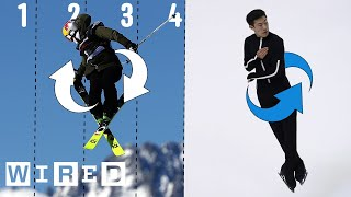 Video Why It's Almost Impossible to Do a Quintuple Jump | WIRED MP3, 3GP, MP4, WEBM, AVI, FLV Oktober 2018
