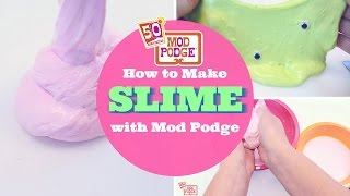 How to Make Slime with Mod Podge