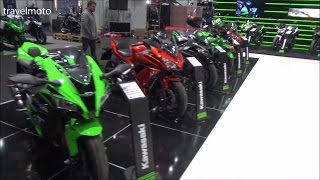 8. The Kawasaki 2017 Super Sports 650cc Motorcycles