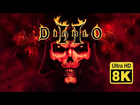 Diablo II intro 8K (Remastered with Machine Learning AI)