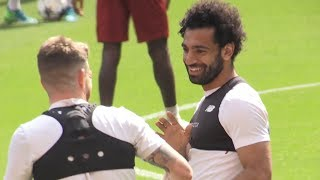 Video Liverpool Train Ahead Of Champions League Final MP3, 3GP, MP4, WEBM, AVI, FLV Agustus 2018