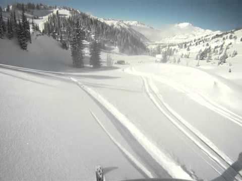 Cat Skiing Alta, Utah – 36″ fresh snow – Feb/2011
