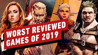 The Worst Reviewed Games of 2019 by IGN