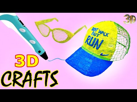 10 Incredible Things You Can Do With A 3D Pen - 3D PEN CRAZY CRAFTS