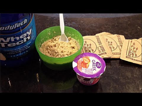 Easy Bodybuilding Pre Workout Meal