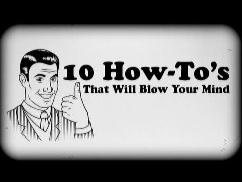 how to - Learn how to do 10 mind blowing things in a matter of minutes! Check out my 2nd Channel for more vlogs: http://www.youtube.com/higatv Follow me on TWITTER fo...