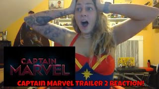Video Marvel Studios' Captain Marvel Trailer 2 REACTION! MP3, 3GP, MP4, WEBM, AVI, FLV Maret 2019