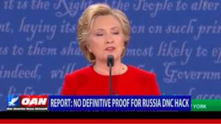 OANN: No Definitive Proof for Russia DNC Hack