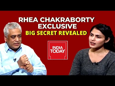 Rhea Chakraborty's Exclusive Full Interview With Rajdeep, Big Secrets Revealed | SSR Death case