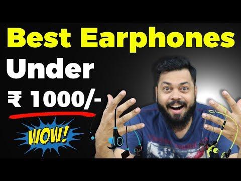 सबसे अच्छे EARPHONES ₹1000 नीचे 🔥 Best Headphones Under 1000 ⚡ 2018