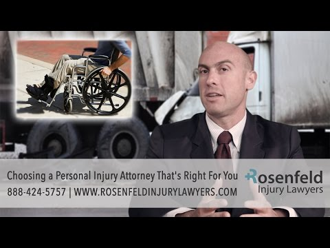 Choosing A Chicago Personal Injury Attorney That's Right For You - Rosenfeld Injury Lawyers