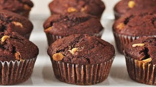 Mocha Muffins Recipe Demonstration - Joyofbaking.com