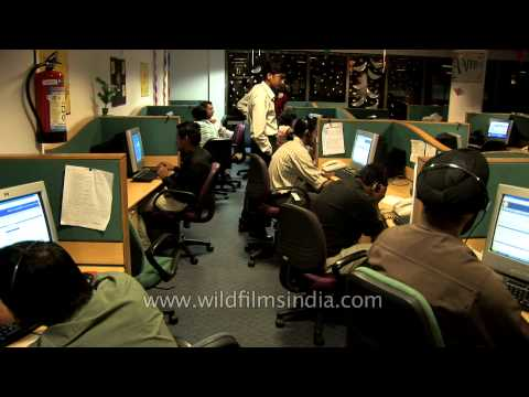 Business Process Outsourcing employees at work