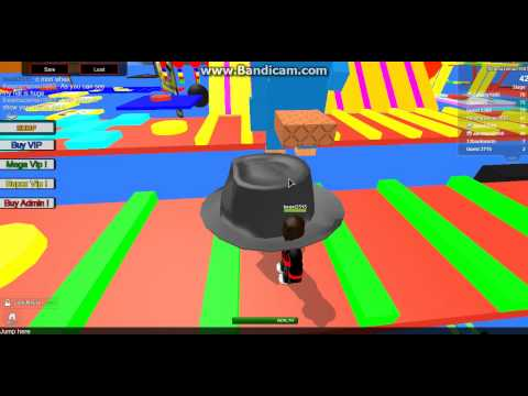 Huge Fedora Hat Glitch In Noob Test Obby