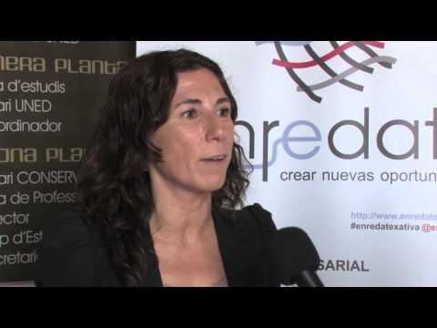 Pilar Puig Cámara de Comercio Enrédate Xátiva 2014