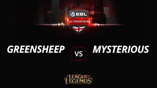 greensheep vs MysteriousHS, game 1