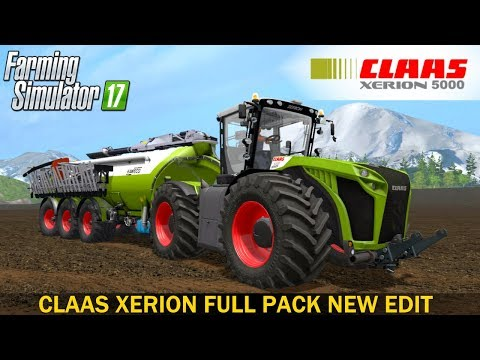 CLAAS XERION FULL PACK NEW EDIT