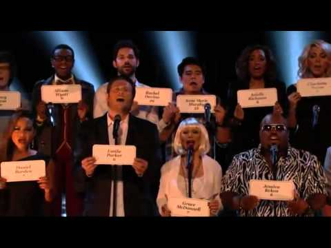 Christina Aguilera (Coaches Perfomance) - Hallelujah